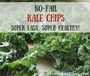 No-fail kale chips -- utterly addictive and so good for you! This is a streamlined recipe to make it super simple, with an energy-saving twist and technique for rescuing soggy chips. Click to read more or pin to save it for later!