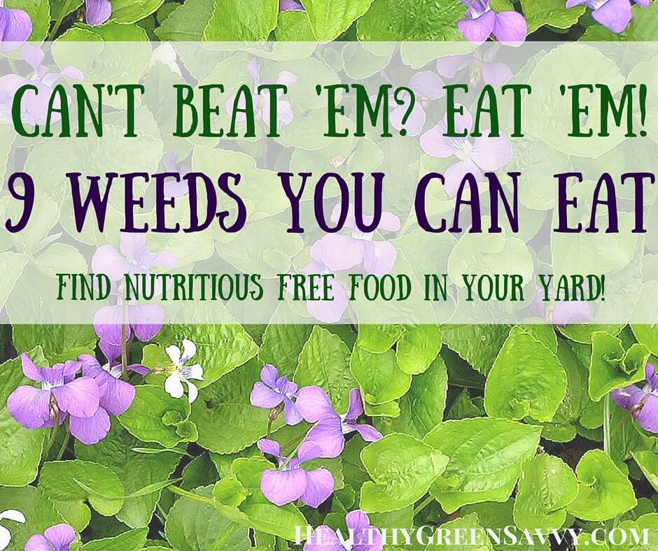 Can't Beat 'Em? Eat 'Em! Edible Weeds