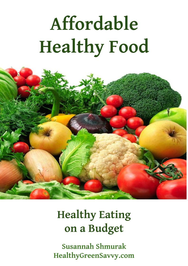 Cover of Affordable Healthy Food
