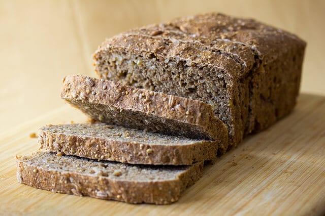 healthy eating habits -- photo of whole-grain bread