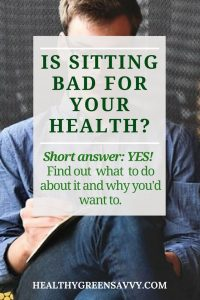 Is sitting bad for your health? Short answer: YES! Find out best practices for a healthy work day. | standing desks | sitting and health | Click to read more or pin to save for later.