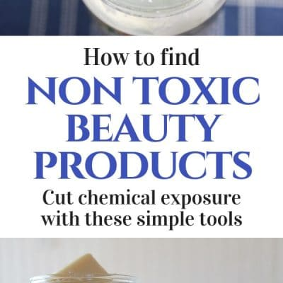 reduce chemical exposure -- pin with coconut oil and homemade soap