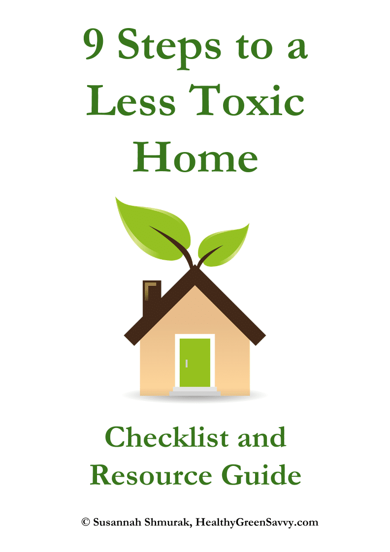 less toxic home