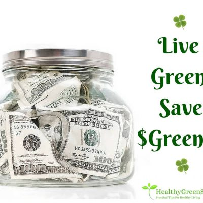 go green to save green