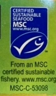 Marine Stewardship Council Seal Sustainable Seafood