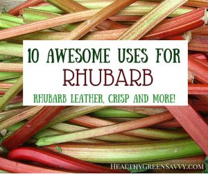 10 awesome uses for rhubarb