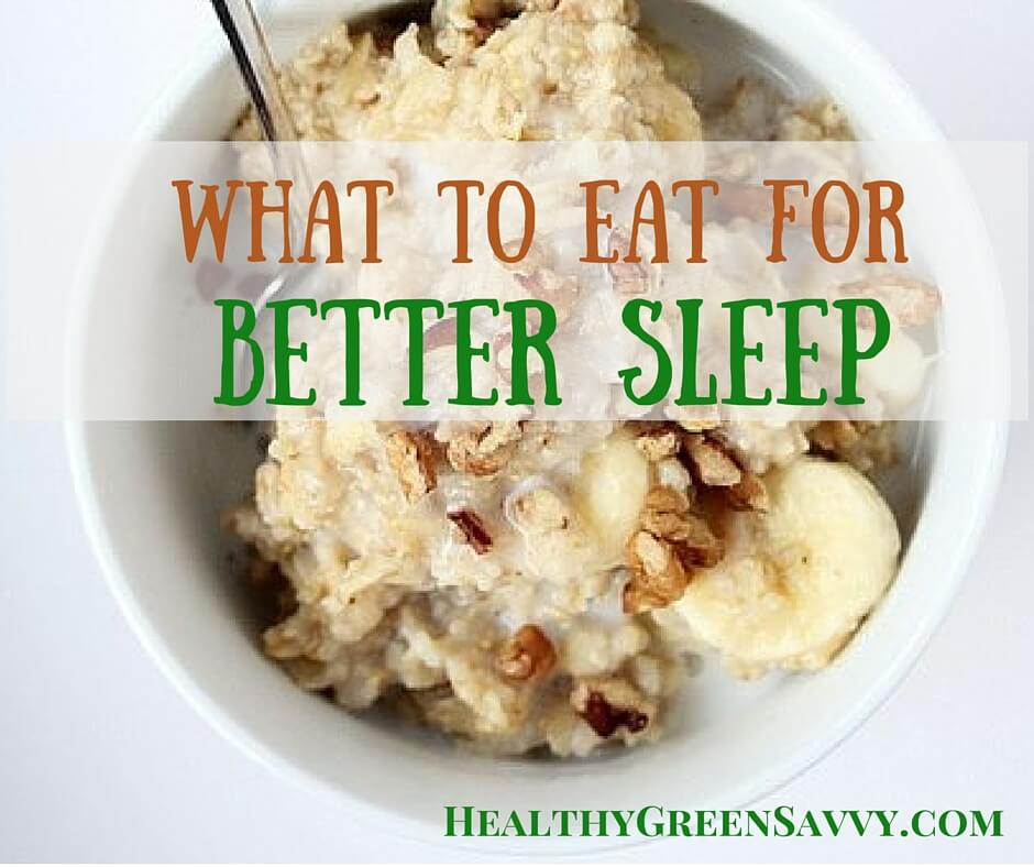 Foods That Help You Sleep Better!