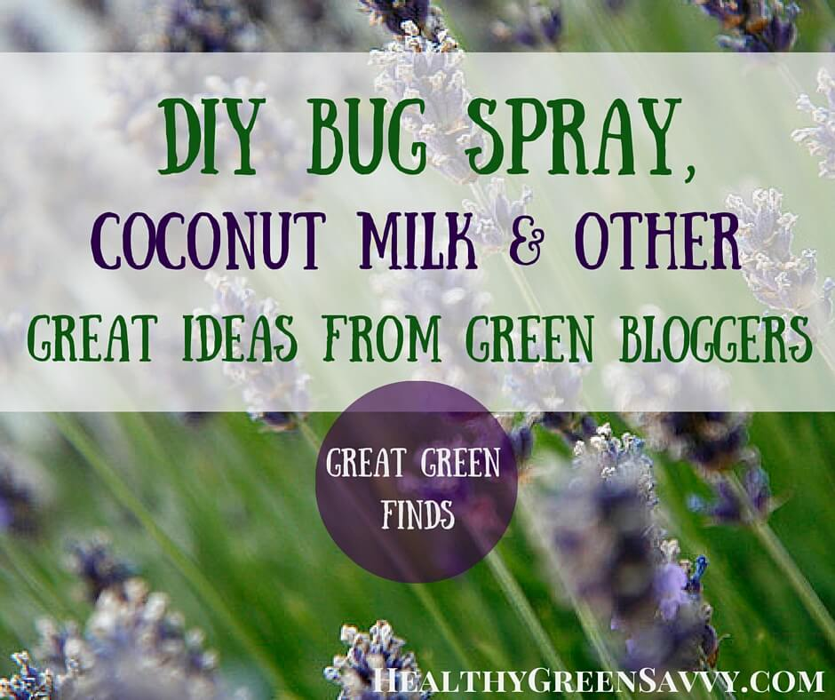 Great Green Finds: DIY Bug Spray, Coconut Milk, and More Inspiring Ideas from Green Bloggers