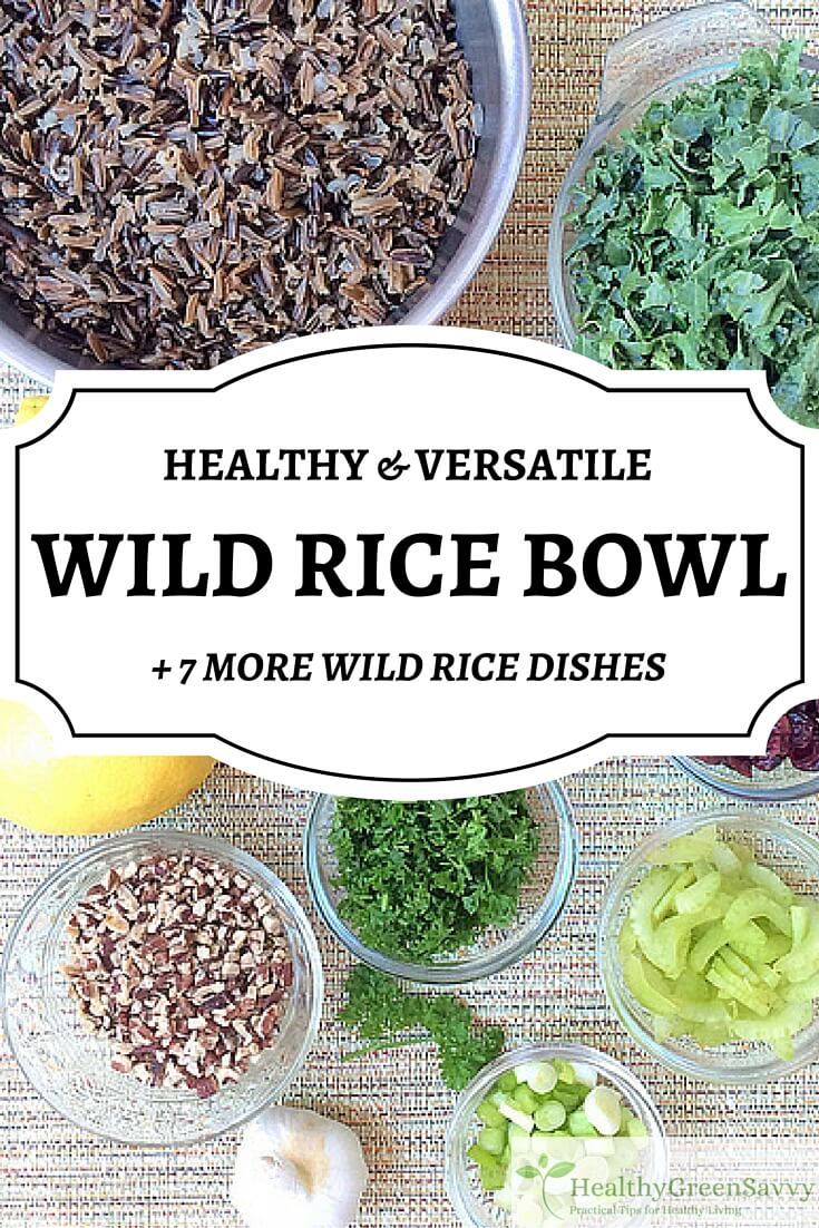 Wild Rice Recipes ~ Healthy Grain-Free Salads, Soups, Sides!