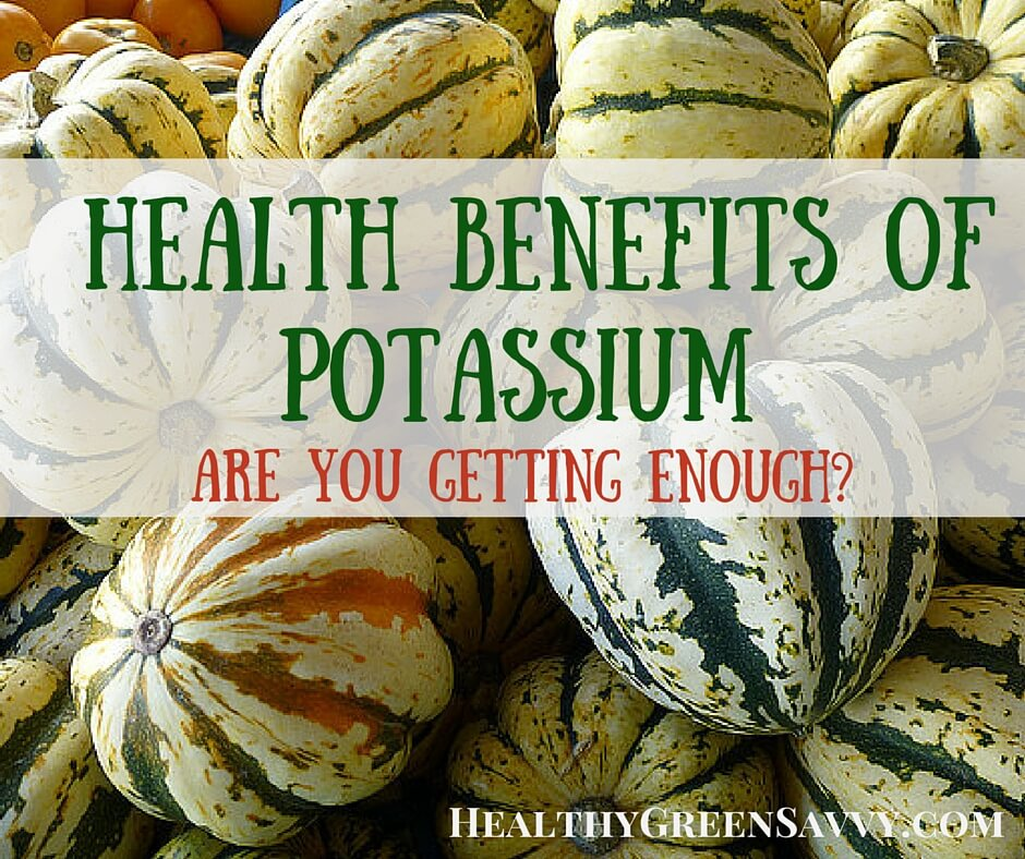 Health Benefits of Potassium & Best Sources of Potassium