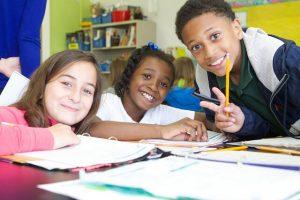 Back to School greener -- happy kids