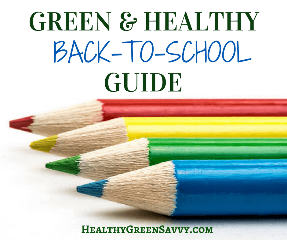 Back to School ~ How to Green Your School Supplies List