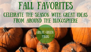Great green ways to enjoy fall from around the blogosphere. Click to read more or pin to save for later.