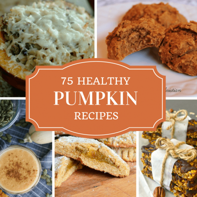 75 mouth-watering healthy pumpkin recipes from around the blogosphere. Pumpkin is a delicious and nutritious ingredient that adds nutrient-filled veggies to your baked goods, soups, and mains. Click t​o read more or pint to save for later!