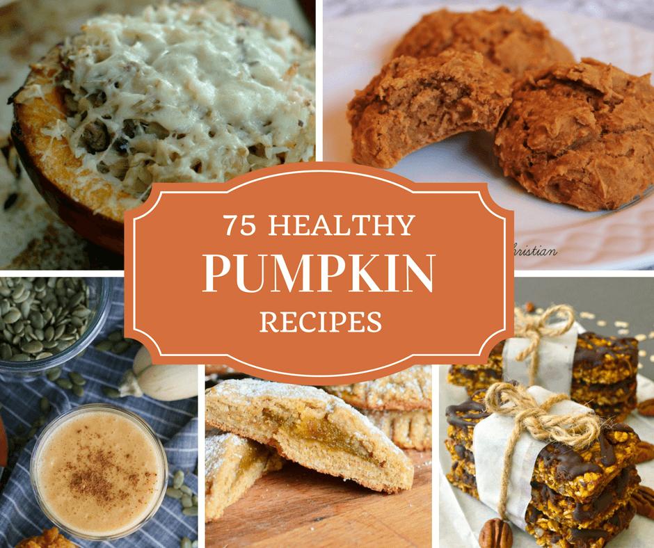 75 Healthy Pumpkin Recipes!