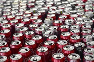 Is canned food healthy? photo of numerous open soda cans