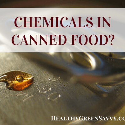 Beware canned food! Did you know most metal cans are lined with plastic that can leach harmful chemicals into your canned food? Here's how to avoid these dangerous compounds. Click to read more or pin to save for later.
