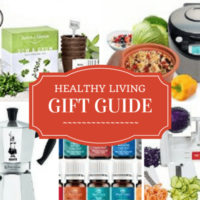 Healthy livinggift guide! Perfect presents to help everyone on your holiday list live healthier! Click to read more or pin to save for later,