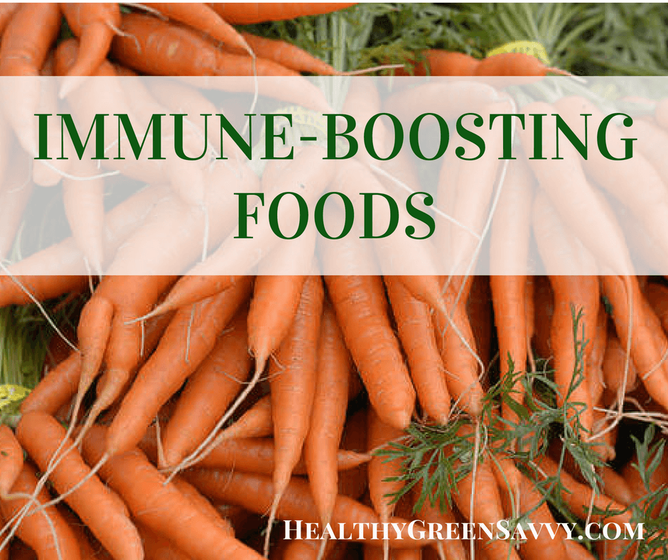 Immune Boosting Foods to Keep Healthy this Season!