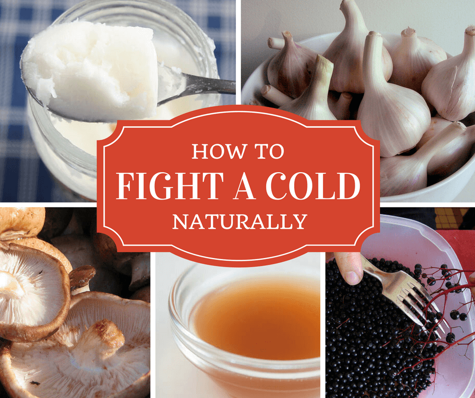 How to Fight a Cold with Kitchen Remedies