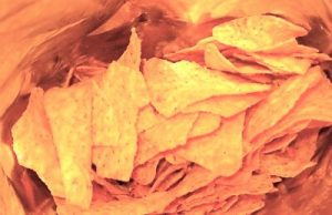 live healthier -- closeup of chips
