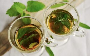 eat healthy on a budget -- photo of herbal tea in cups