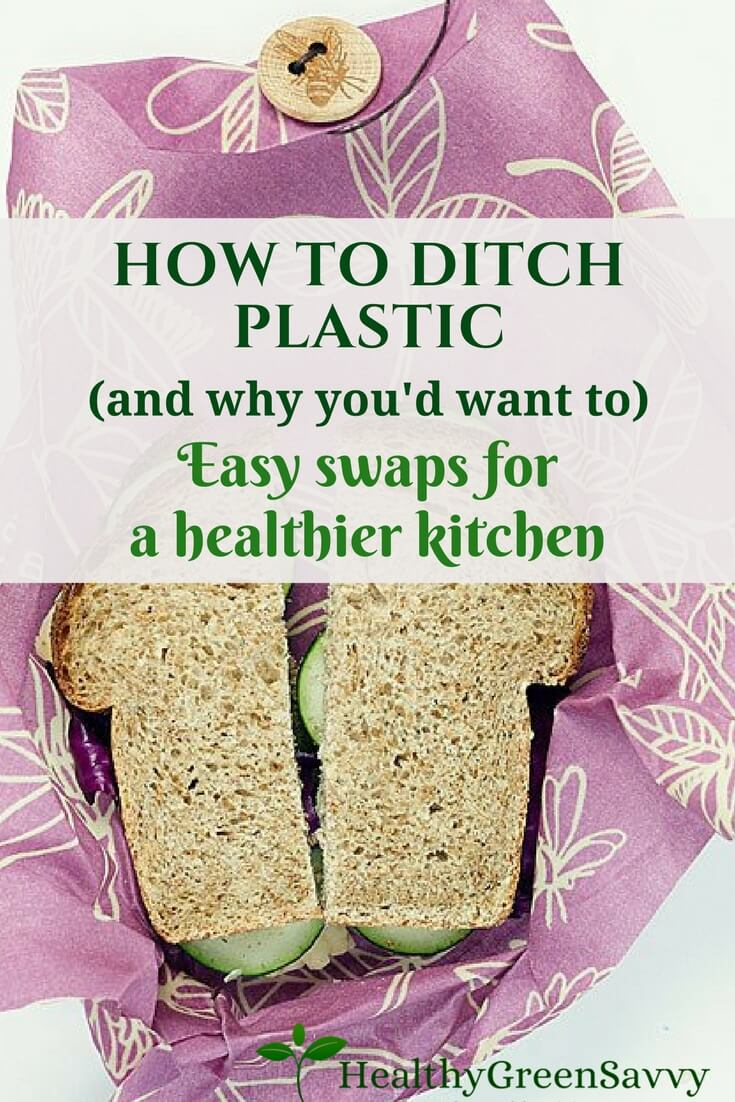 Easy Ways to Ditch Plastic ~ Plastic Alternatives in the Kitchen