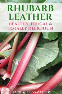 Homemade fruit leather is easy and so much better than store-bought! Plus, when you use rhubarb, you're actually getting in a serving of vegetables. Wooohoo!   healthy treats   low-sugar treats   homemade fruit leather   rhubarb recipes  