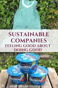 (Sponsored) Feel great about supporting sustainable companies and celebrate #ThWholeYou this spring! Stonyfield and prAna are amazing companies that not only make terrific products, but have a commitment to sustainability. | sustainable companies | eco-friendly products | eco-conscious consumerism |