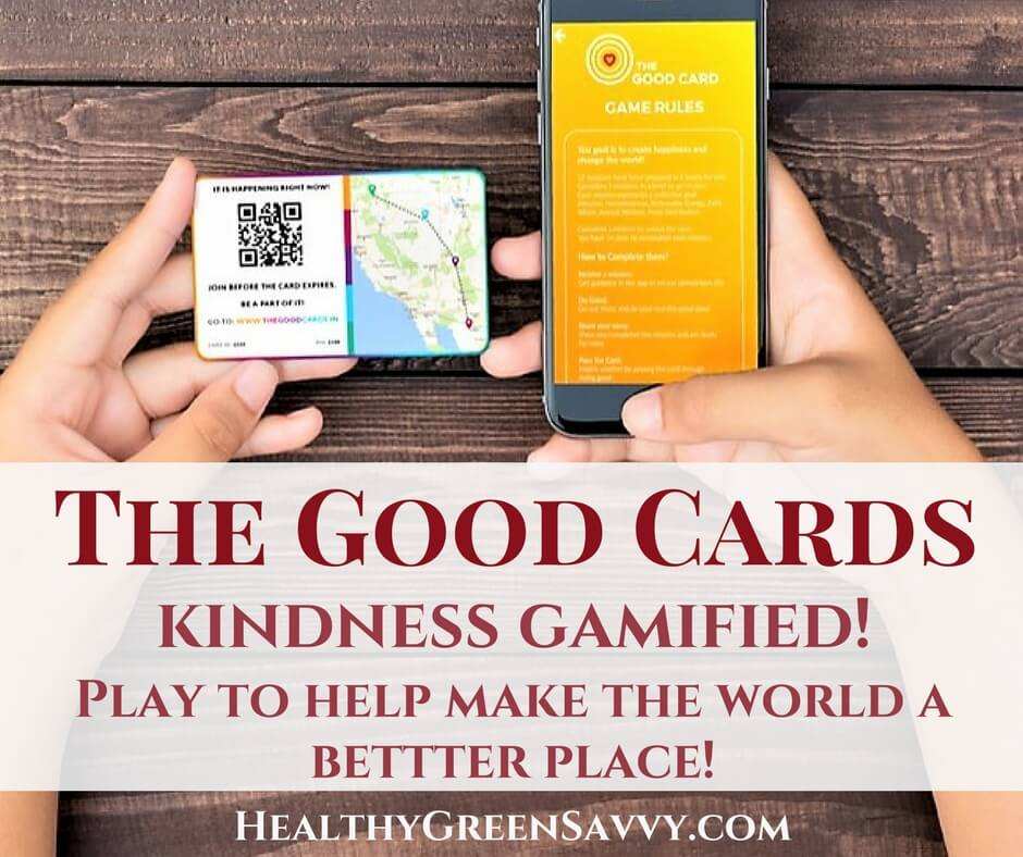 Health Benefits of Doing Good ~ Introducing The Good Cards