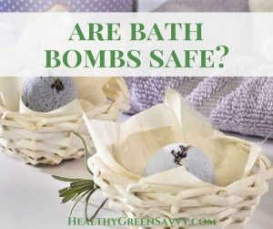 Are bath bombs safe? Your bath bombs may contain harmful chemicals. Find out how to make your bath less toxic with easy DIY fixes. #nontoxic #health #healthtips #bathbomb #bodyproducts #bathproducts