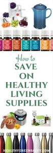 How to Save on Healthy Products: A little know how and save you serious money on the tools you need for a healthy lifestyle. | frugal | healthy bargains | green living tools |