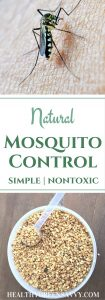Natural Mosquito Control: Finally, an easy, non-toxic way to kep your yard mosquito-free all season long! | nontoxic pest control | natural bug control | get rid of mosquitoes | (product review)