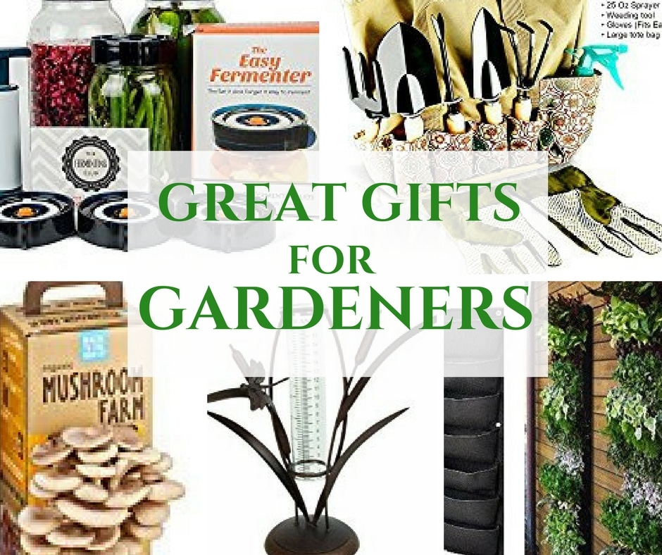 Great Gifts for Gardeners ~ Give the Gift of Growing This Season