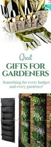 Perfect gifts for gardeners on your list! Inexpensive and splurge ideas your gardener will love! #gardeninggifts #ecofriendly #gardensupplies