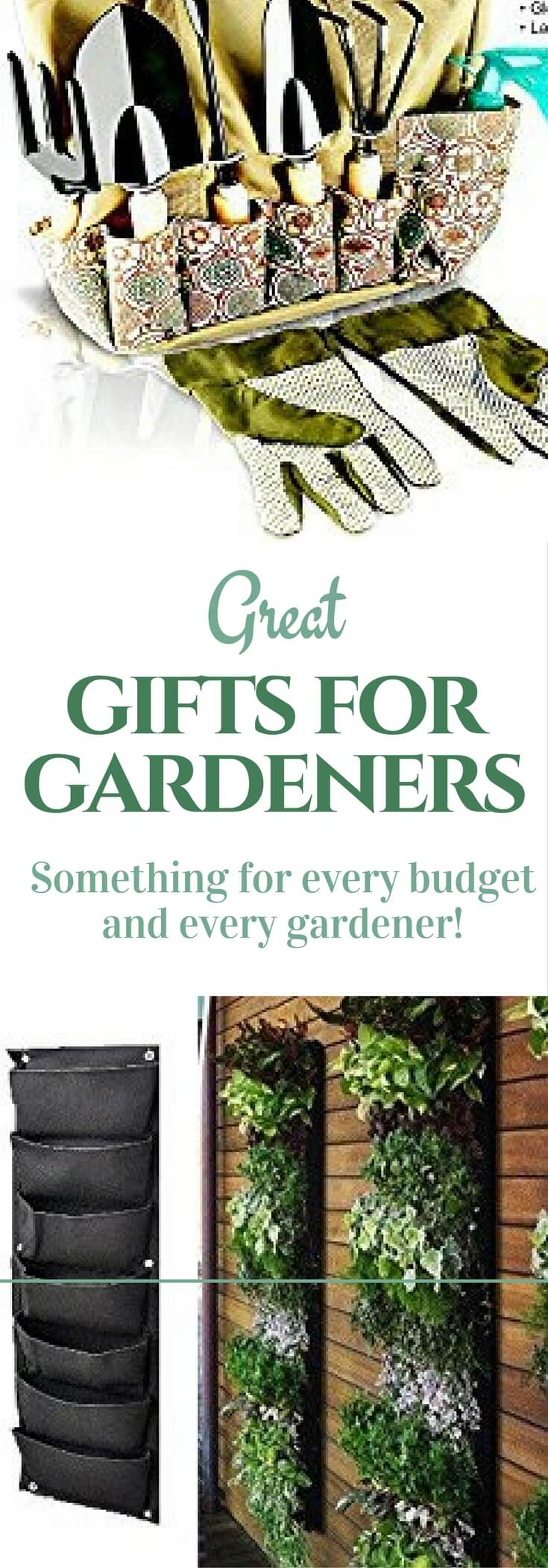 Perfect Gifts For Gardeners On Your List! Inexpensive And Splurge Ideas  Your Gardener Will Love