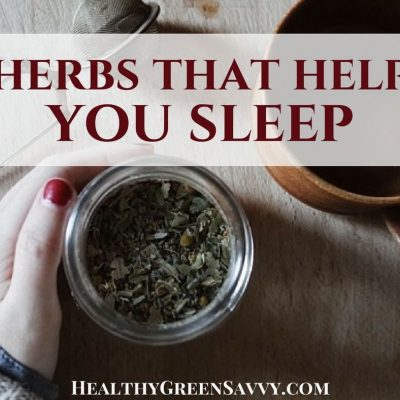 Could herbs for sleep help you sleep better? The right herb can make a huge difference in your ability to get a good night's sleep. How to make your own herbal blends for sleep. #herbalremedies #sleep #herbaltea #naturalremedies