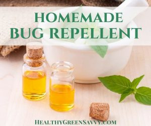 Homemade bug repellent is effective and easy to make. FInd out how to skip the chemicals but still keep bugs at bay!