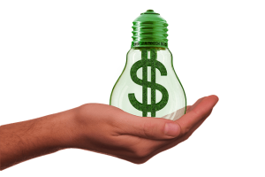 energy efficient lighting saves money