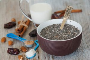 chia pudding recipe -- ingredients