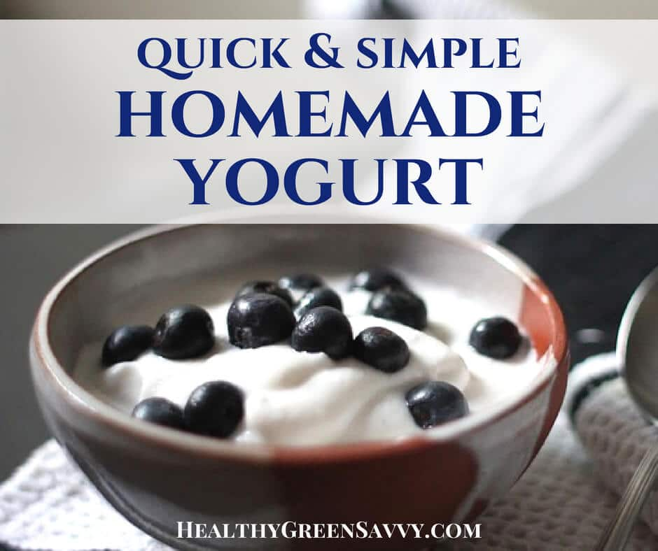 Homemade Yogurt ~ Quick, Easy & Money-Saving!