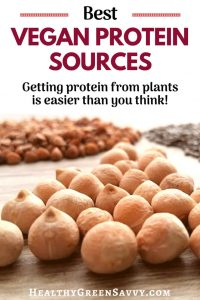 Vegan protein sources are much easier to find than you might think! You'll have no problem meeting your daily protein requirements with these vegetarian and vegan protein sources #vegan #nutrition #vegetarian #veganprotein #protein #healthyfood #legumes #nuts #seeds #plantbased #lowcarbondiet