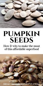 "What are pepitas? Pepitas (aka pumpkin seeds) are nutritional powerhouses, full of immune-boosting minerals like magnesium and zinc. Plus, unlike so many ""superfoods"" they're super-affordable! Here's how and why to incorporate them into your diet often! #pumpkinseed #pepitas #healthyfood #nutrition #superfoods"
