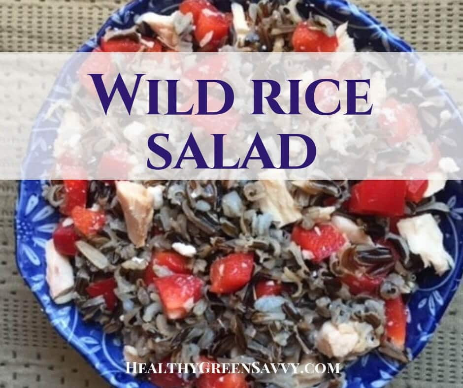 Wild Rice Salad with Red Pepper & Feta