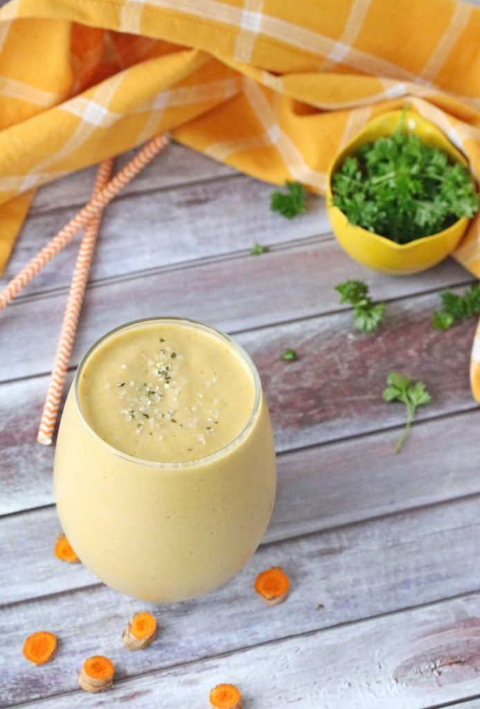 photo of Orange Mango Turmeric Smoothie from Fit as a Mama Bear