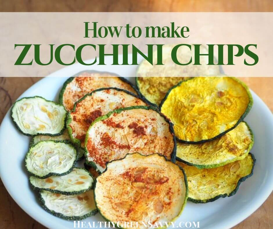 How to Make Zucchini Chips, a Healthy & Delicious Snack!