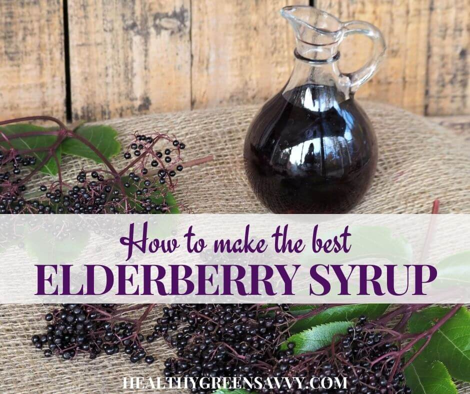 The Best Way to Make Homemade Elderberry Syrup