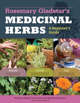 Photo of cover of Rosemary Gladstar's Medicinal Herbs, an excellent introductory book on herbal medicine