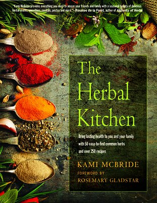 cover of The Herbal Kitchen, an excellent herbal medicine book