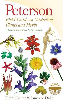 cover of Peterson's Guide to Medicinal Plants and Herbs, one of the best herbalism books for the home library